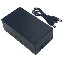 CAMS : 12V External Battery / Power Bank,This is a charger works as a external battery for all the 12V biometric attendance system. Under the environment where the power is cut off suddenly, power discharge can be realized automatically to continue power supply for fingerprint sensor.
