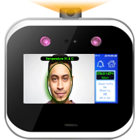 """CAMS : Face Recognition With Mask and Thermal Detection (WebAPI Supported),It is a artificial intelligence face artificial intelligence. It is a Visible Light Facial Recognition Terminal,using intelligent engineering facial recognition algorithms and the latest computer vision technology. It supports both facial and palm verification with large capacity and speedy recognition, as well as improves security performance in all aspects.<br><br>  It is also equipped with ultimate antispoofing algorithm for facial recognition against almost all types of fake photos and videos attack. .<br><br>  The terminal with temperature and mask detection will be a perfect choice to help reduce the spread of germs and help prevent infections straightly at each access point of any premises and public areas such as hospitals, factories,schools, commercial buildings, stations during the recent global public health issue with its fast and accurate body temperature measurement and masked individual identification funtions during facial and palm verification. .  .<br><br> <b>Drawback:<b> If user has registered face with mask, then user has to always wear the mask during attendance/authentication<br> <b>Optionally it can support: </b> NFC Tag, MiFare tag, and QR Code<br> Screen Resolution: 854*480<br> <b>Temperature detection features:</b></br> <b>Temperature Measurement Distance:</b>30cm~50cm </br> <b>Temperature Measurement Accuracy:</b>&#xb1;0.3<sup>o</sup>C  (±32.54<sup>o</sup>F)</br> <b>Temperature Measurement Range:</b>0.1<sup>o</sup>C  to 45<sup>o</sup>C </br>(32.18<sup>o</sup>F to 113<sup>o</sup>F)  <br><br><p> Do you like to link this device with your own web application? <a href=""""http://camsunit.com/application/biometric-web-api.html"""" rel=""""WEB API for Biometric Attendance System"""">Click Here for Biometric WEB API Documentation</a> </p>   <iframe src=""""https://www.youtube.com/embed/NX3hZ8HS_vs"""" style="""" max-width: 301px; height: 200px;""""></iframe>"""