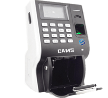 CAMS : Fingerprint Time and Attendance with Thermal Printer for Canteen Management,It is fingerprint attendance and thermal printer attached device.  Device would print and give a slip for every attendance which, usually, can be used at canteen. 