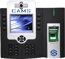 "CAMS : Fingerprint Attendance and Access Control System,8,000 to 20,000 fingerprints and 10000 cards supported attendance and access control system which has inbuilt battery slot<br><br><p> Do you like to link this device with your own web application? <a href=""http://camsunit.com/application/biometric-web-api.html"" rel=""WEB API for Biometric Attendance System"">Click Here for WEB API Documentation</a> </p>"