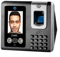 """CAMS : Face Recognition Attendance and Access Control System,Very good model for Face supported biometric attendance system.  It supports 1000 Face , 3000-5000 Fingerprint and RFID Card for recording the attendance. It is an access control system with Card/Password based exit reader. <br><br> Optionally Battery, WiFI, 2G/3G/4G can be added <br><br><p> Do you like to link this device with your own web application? <a href=""""http://camsunit.com/application/biometric-web-api.html"""" rel=""""WEB API for Biometric Attendance System"""">Click Here for WEB API Documentation</a> <br><br><b>Limitation:<br><br>It supports only numerical user id. It supports Check In and Check Out (no break in/out support)</p>"""