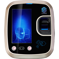 """CAMS : Face Recognition Attendance and Access Control System,Very good model for Face supported biometric attendance system.  It supports 3000 Face , 5000 Fingerprint and RFID Card for recording the attendance. It is an access control system with Card/Password based exit reader. It is 4.3-inch TFT capacitive color touchscreen device. Smooth touchscreen gives best exeperince. <br><br> Optionally Battery, WiFI, 2G/3G/4G can be added <br><br><p> Do you like to link this device with your own web application? <a href=""""http://camsunit.com/application/biometric-web-api.html"""" rel=""""WEB API for Biometric Attendance System"""">Click Here for WEB API Documentation</a> <br><br>  <b>Limitation:<br><br>It supports only numerical user id. It supports Check In and Check Out (no break in/out support) </p>"""