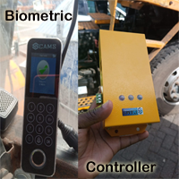 """CAMS : Biometric Fingerprint Starter for Forklift, Truck, Crane, Lorry, Bus, Car and etc,This fingerprint starter gives the secured handling of any automobiles by allowing only authorized persons to start the vehicles such as forklift, lorry, car, bus, truck and etc,. It is also known as Forklift Biometric Controller System. <br><br> It can be used with any light/heavy duty vehicles running with 12-24v battery. No more circuits or controller you need additionally to fix this unit into your automobile.   <br><br> Biometric device is waterproof with IP67 rate. Controller is not waterproof. So, controller should be kept in safe place. A basic report can be downloaded using (usb) pen drive from the device.  <br><br> <b>FleetBio32</b>: FleetBio31 and 32 are same devices, but, FleetBio32 sends the data about who started and when started, to the server on real time.  FleetBio32 has two variations for communicating with server. One comes with WIFI supported. One comes with GPRS/3G/4G support. The data comes to the server can be captured by our server application. The API documentation is available at  <a href=""""https://camsunit.com/application/biometric-web-api.html"""" rel=""""Biometric API, Web API for Biometric Attendance"""">Click Here for WEB API Documentation</a>. Regarding the cost, share your requirement at <a href=""""https://wa.me/919840981006"""" alt=""""Cams Biometrics Technical whatsapp number"""">whatsapp: +91-98409-81006</a> and get the cost details based on your requirement.   <br><br> Related Article: <a href=""""https://camsunit.com/application/cams-forklift-biometric-system.html"""" alt=""""Forklift fingerprint starter"""">https://camsunit.com/application/cams-forklift-biometric-system.html</a>  <br><br> <iframe width=""""100%"""" height=""""100%"""" src=""""https://www.youtube.com/embed/Mbfz8TKrTzE?autoplay=0&mute=1"""" frameborder=""""0"""" allow=""""autoplay; encrypted-media"""" allowfullscreen></iframe>"""