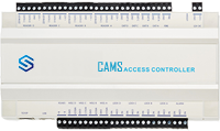 """CAMS : 4 Port Access Controller (Web API Supported),<p> Controller supports RC15 Card Exit Reader, RC25 Card+Pin Exit Reader, and RC12 Fingerprint + Card + Pin Exit reader. <br><br>   Controller supports RS485 and wiegand 26/34 readers.  It supports the Web API using which, without any software installation, it can be connected to any remote server.   <br><br> Do you like to link this device with your own web application? <a href=""""https://camsunit.com/application/biometric-web-api.html"""" rel=""""WEB API for Biometric Attendance System"""">Click Here for WEB API Documentation</a>  <br><br><b>Drawback:</b>Supports only numerical user id while adding the user in the device</p>"""